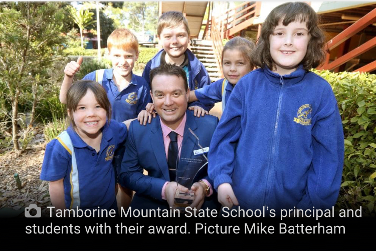 TMSS Wins Australian Primary School of the Year